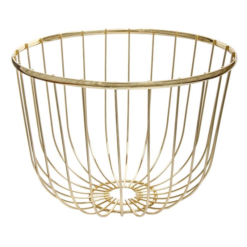 Zuhause – Spun Gold Centrepiece Bowl 30x20cm