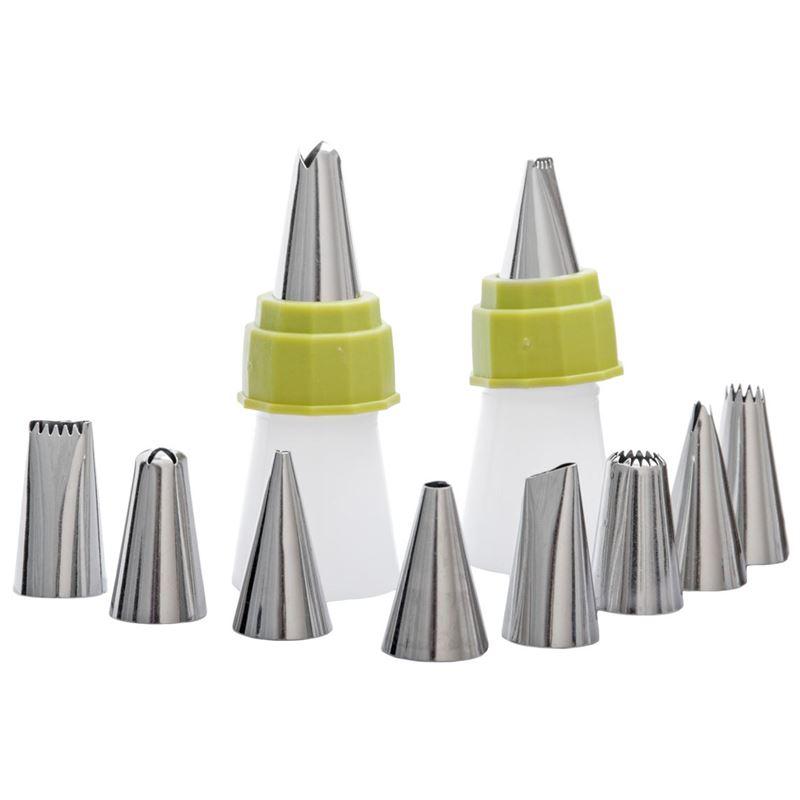 samsam – Bake Professional Piping Nozzle 10pc Set