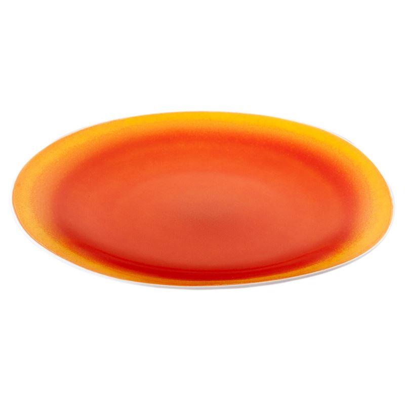 Benzer – Noosa Organic Sunset Orange Dinner Plate 28cm