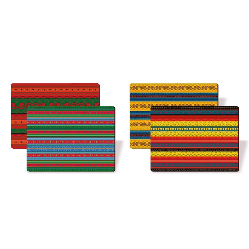 Nostalgic – Africain Textiles Placemats 29×21.5cm Set of 4
