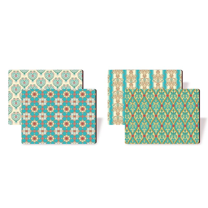 Nostalgic – Persian Textiles Placemats 29×21.5cm Set of 4