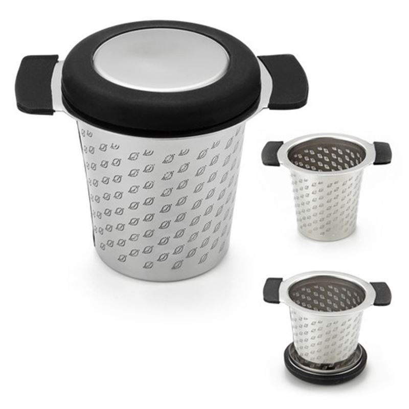 Teaology – Stainless Steel Micromesh Tea Mug Infuser with Lid