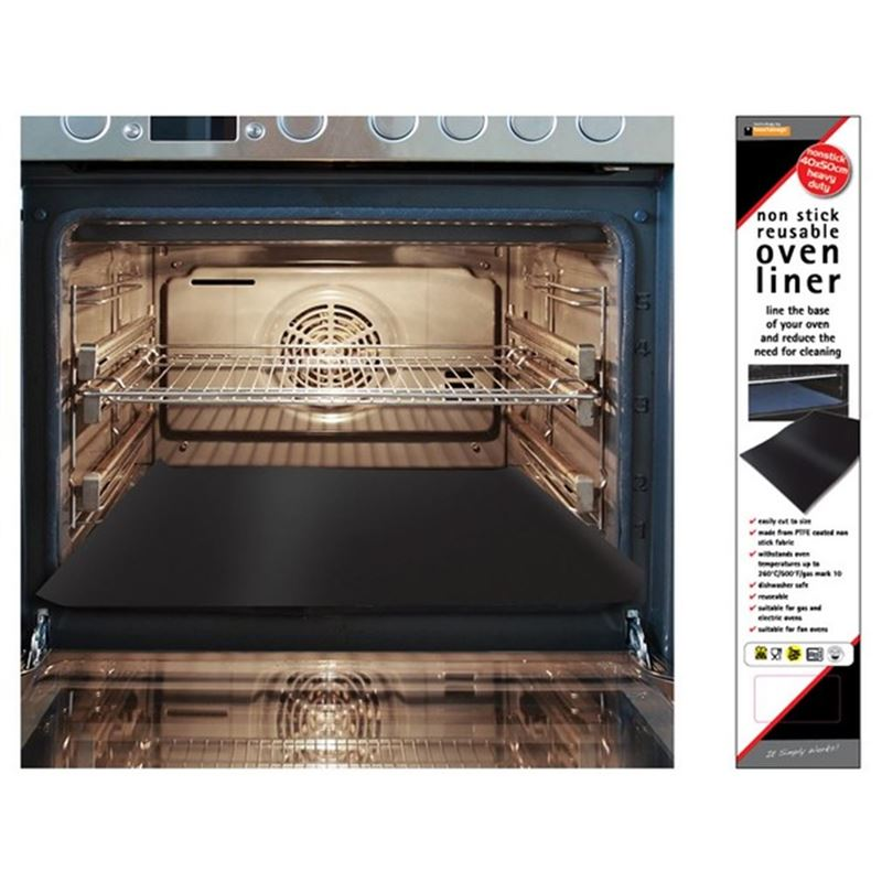 Non-Stick Re-Usable Oven Liner 40x50cm Made in the UK