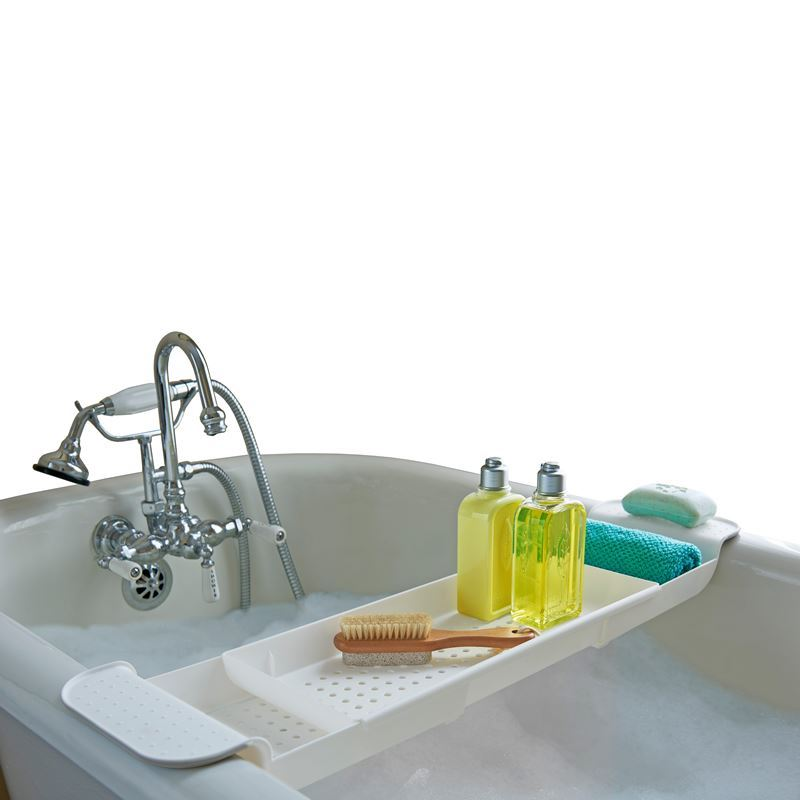 Made Smart – Expandable Bath Tub Shelf