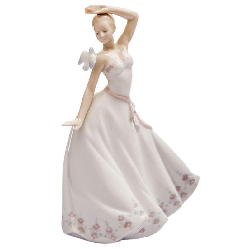 Dan Samuels – Dancing Girl Porcelain Figurine 11cm