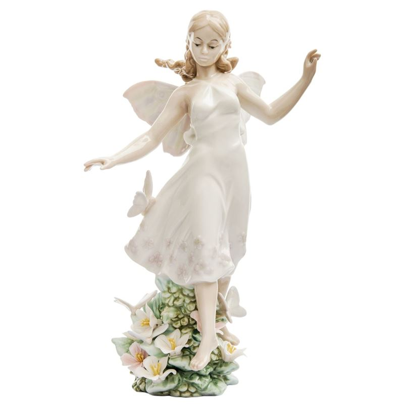 Dan Samuels – Dancing Angel Porcelain Figurine 17cm