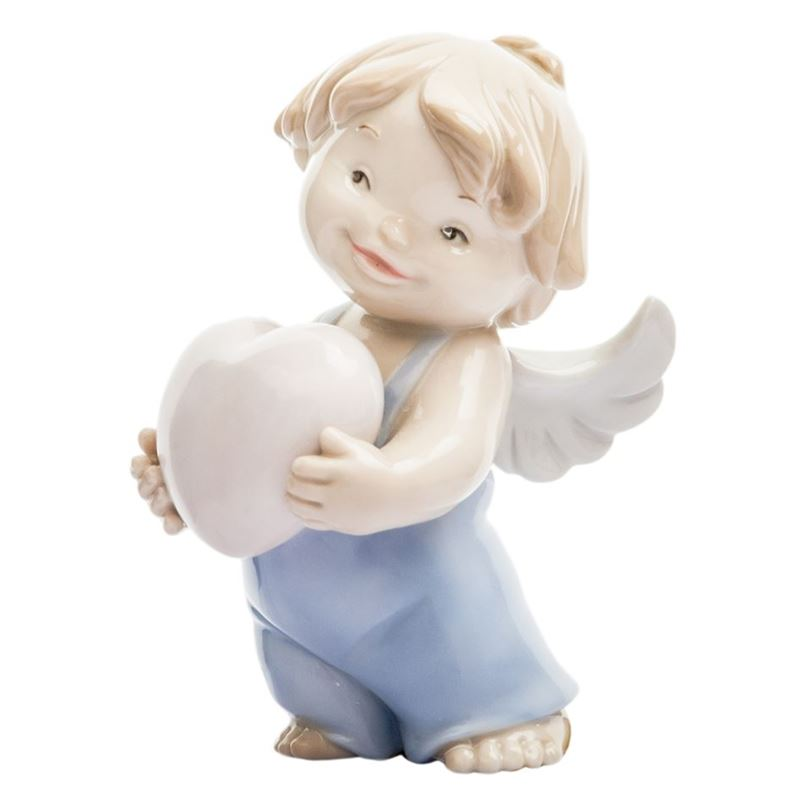 Dan Samuels – Cherub Love Porcelain Figurine 6cm