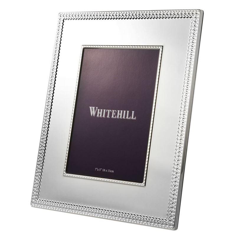 Whitehill – Belgravia Silver Plated Photo Frame 13x18cm
