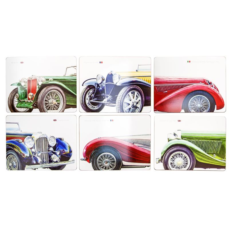 Cinnamon – Classic Cars Placemat 33.5×26.5cm Set of 6