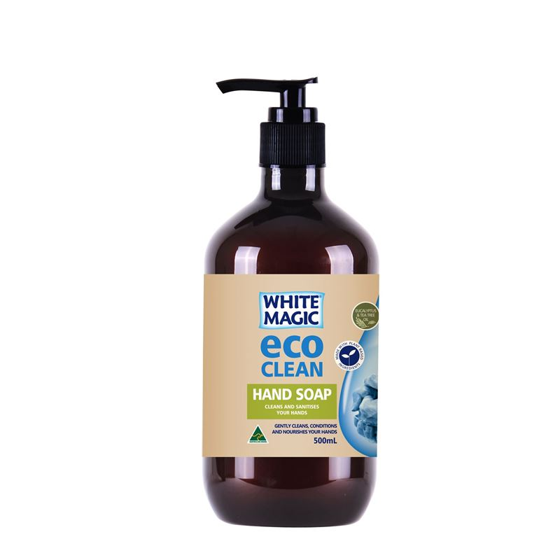 White Magic – Eco Clean Hand Soap Cleans and Sanitises your Hands 500ml