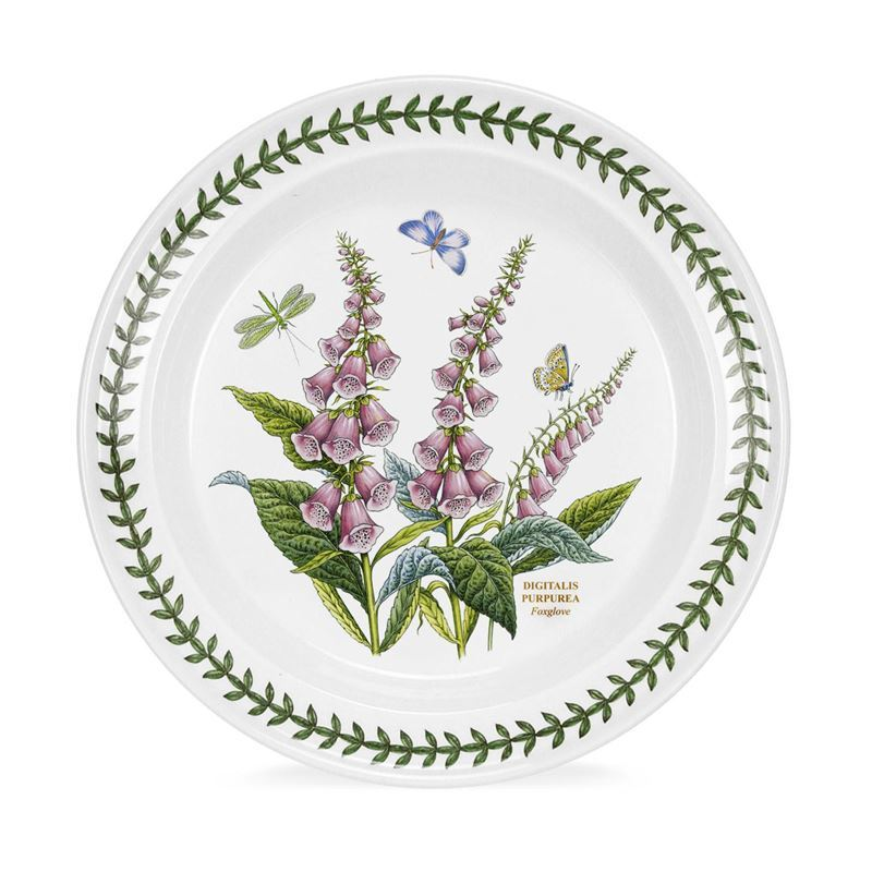 Portmeirion Botanic Garden – Dinner Plate Foxglove 25cm (Made in England)