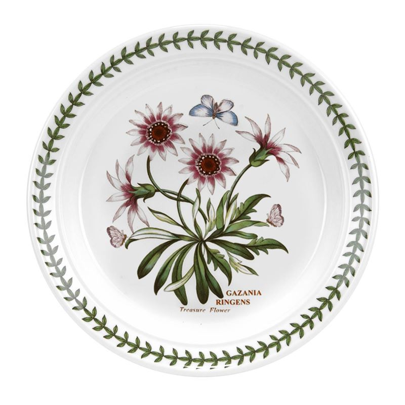 Portmeirion Botanic Garden – Entree Plate Treasure Flower 20cm (Made in England)