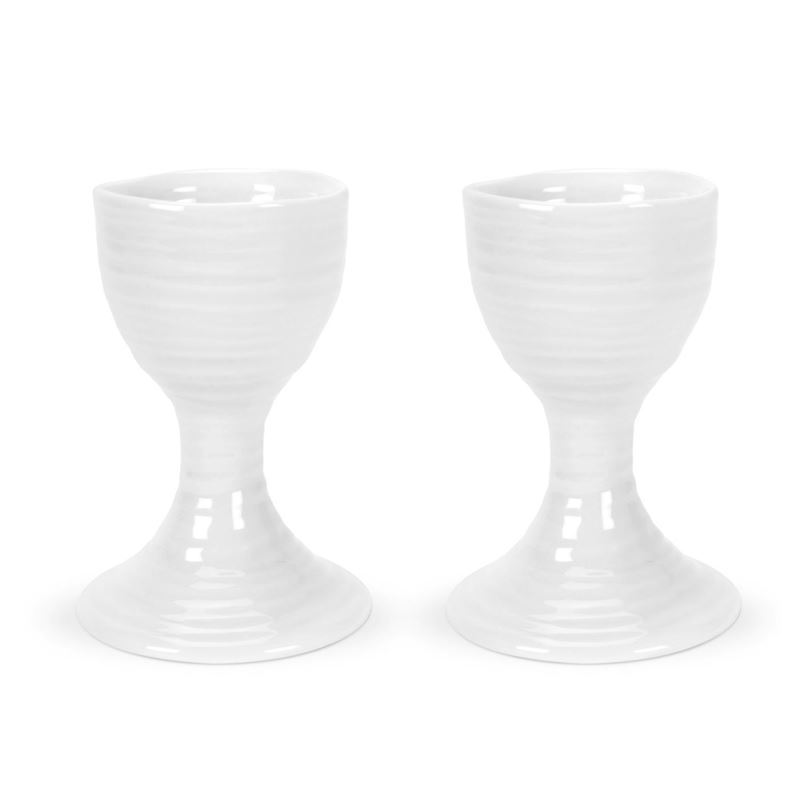 Sophie Conran for Portmeirion – Ice White Egg Cups 9cm Set of 2