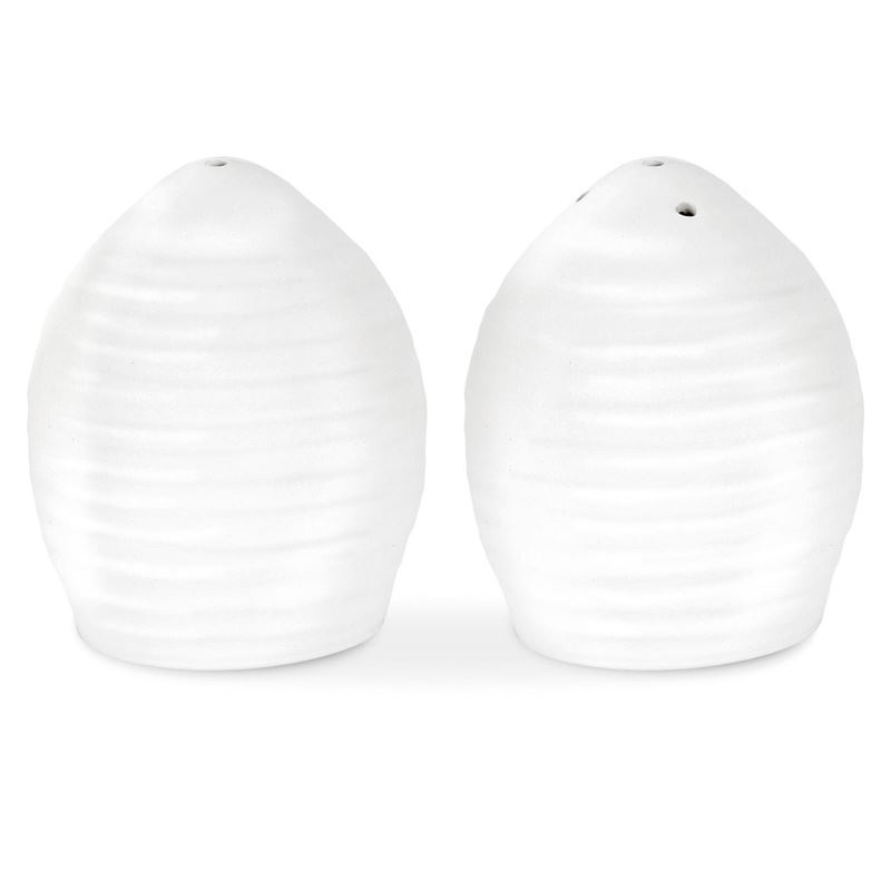 Sophie Conran for Portmeirion – Ice White Salt and Pepper Shakers 6.4cm