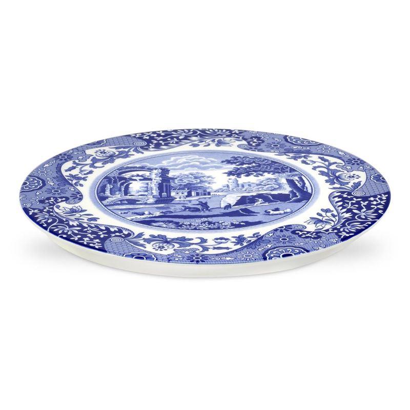 Spode – Blue Italian Cake/Serving Plate 28.5cm