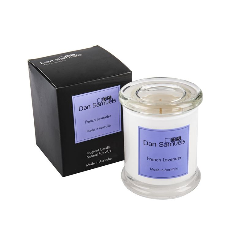 Dan Samuels – Metro Jar Filled Candle French Lavender 340ml (Hand Made in Australia)