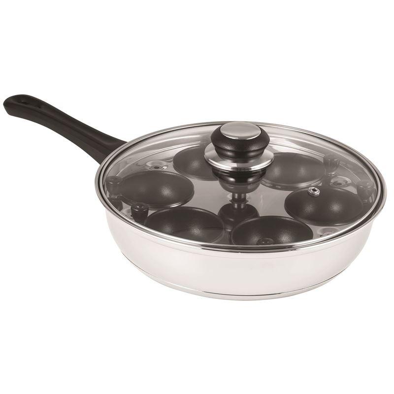 Avanti – 24cm Egg Poaching Pan with 6 Non-Stick Cups
