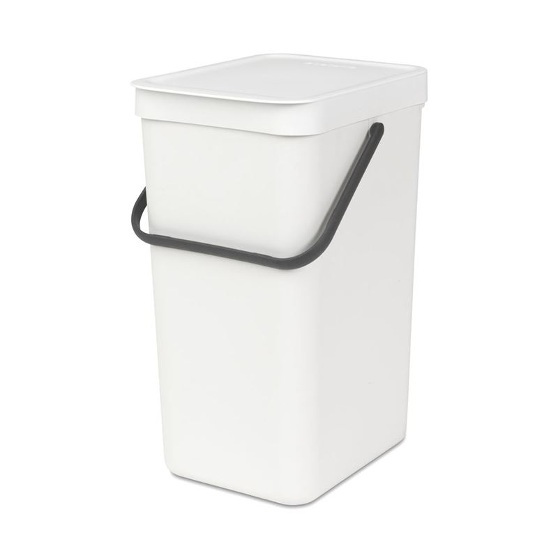 Brabantia – Sort & Go 16Ltr White