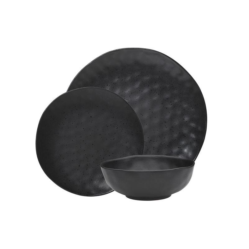 Ecology – Ebony Speckle 12pc Dinnerset – Premium Stoneware