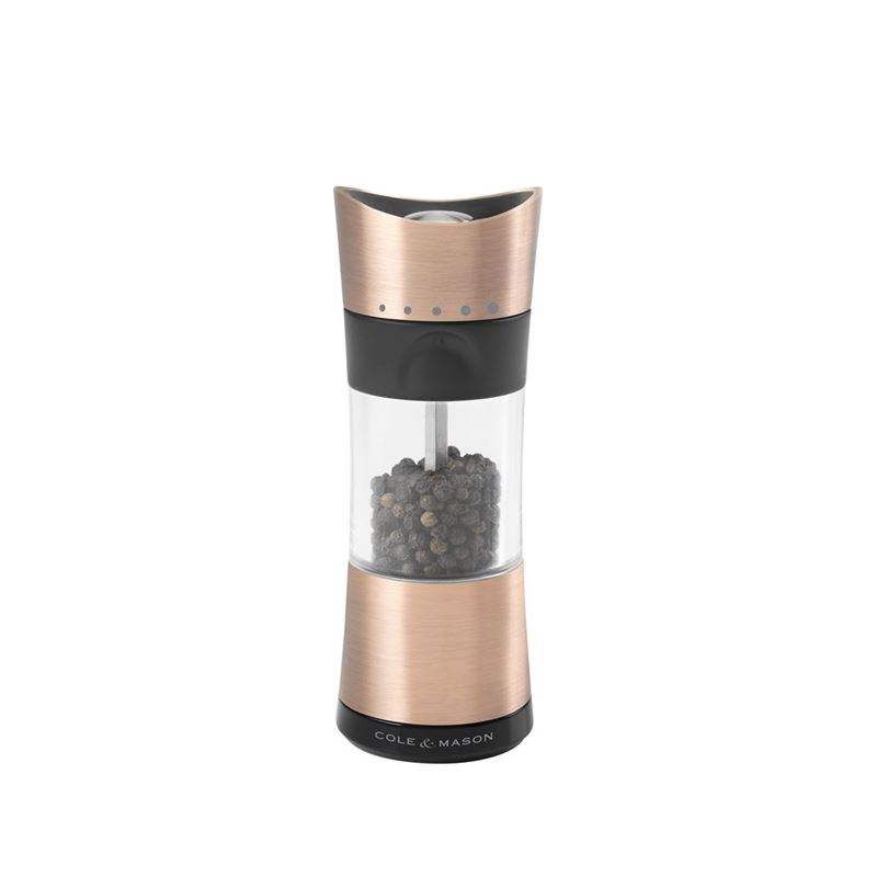 Cole & Mason – Inverta Horsham Copper 15cm Pepper Mill