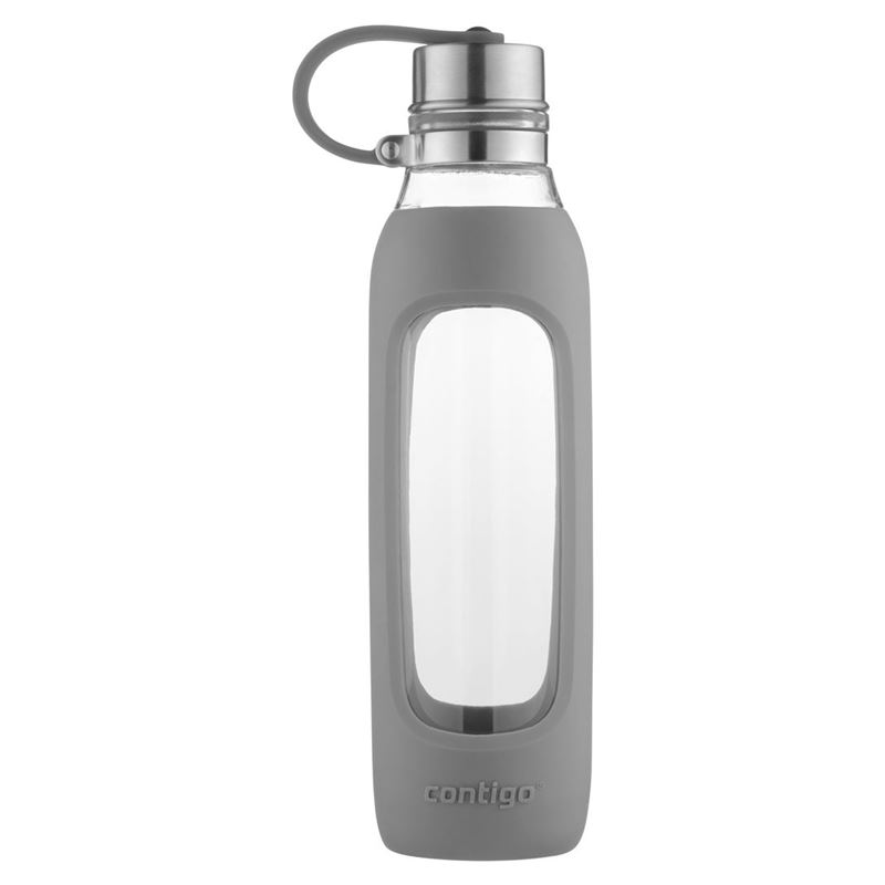 Contigo – Purity Glass Water Bottle Smoke Grey 591ml