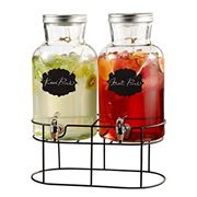 Beverage Dispensers + Serving